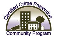 Certified Crime Prevention Community Program