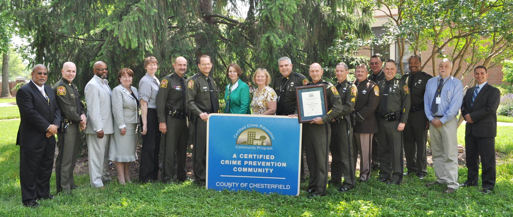 CCPCP - County of Chesterfield becomes certified