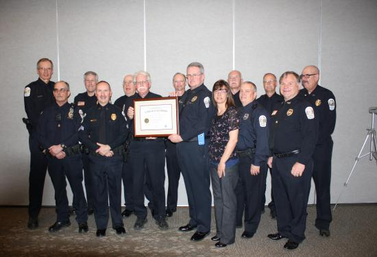 On March 25, 2016 the Wintergreen Police Department was formally presented with its 3rd Award for Accreditation.