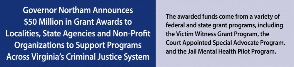 Grants for Criminal Justice System