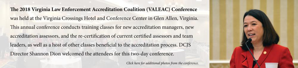 2018 VALEAC Conference