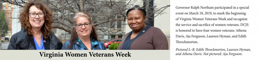 Virginia Women Veterans Week